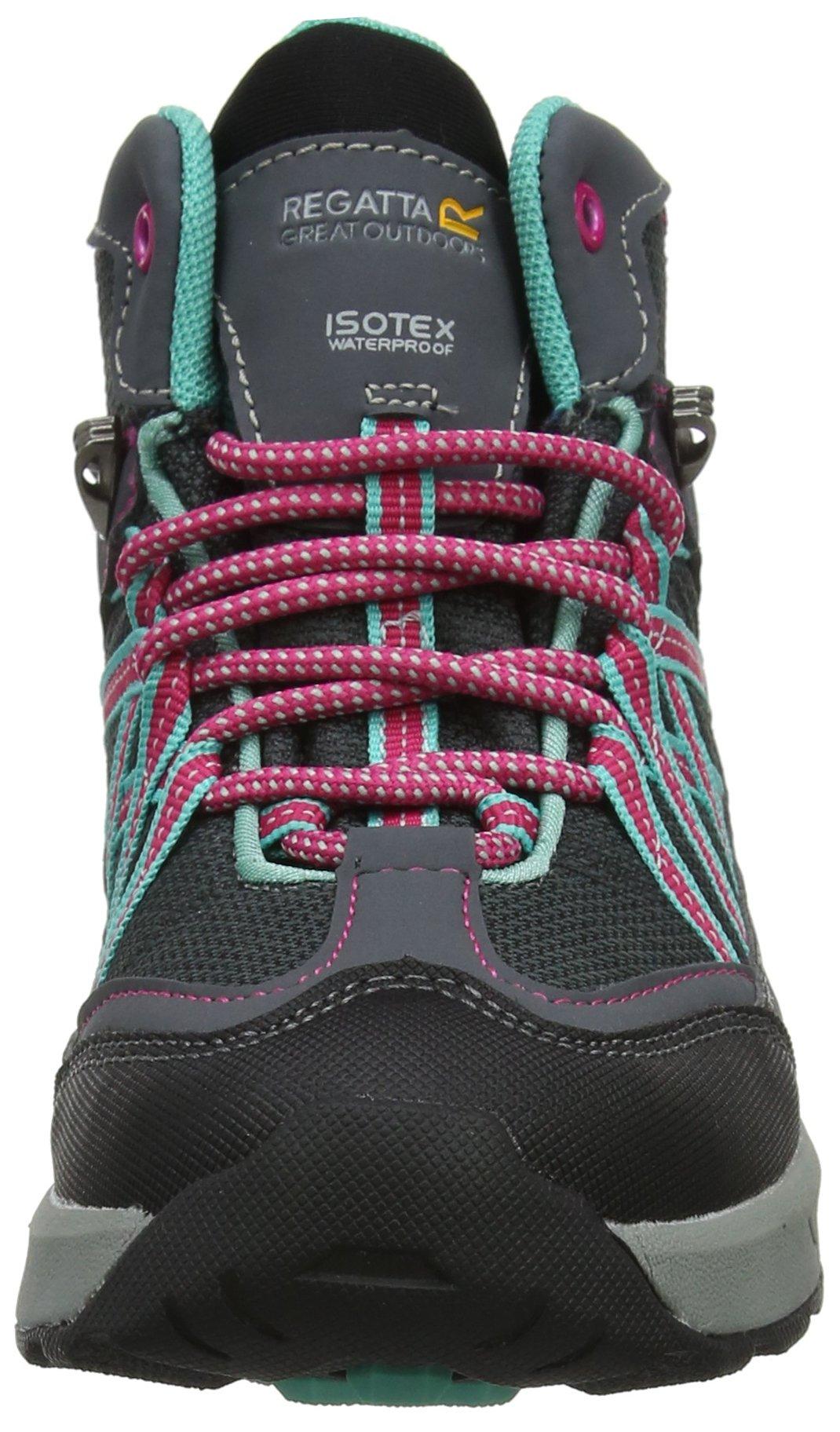 Regatta Samaris Mid Jnr, Girls' High Rise Hiking Boots 4