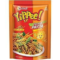 Sunfeast YiPPee! Tricolor Pasta   Cheesy and Soft Suji, Rawa Pasta   Masala  65g Pack