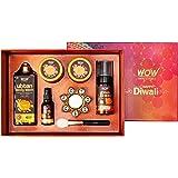 WOW Skin Science Ubtan Beauty Box - Contains Ubtan Face Wash, Ubtan Body Wash, Ubtan Scrub, Ubtan Pack & Ubtan Face Serum - T