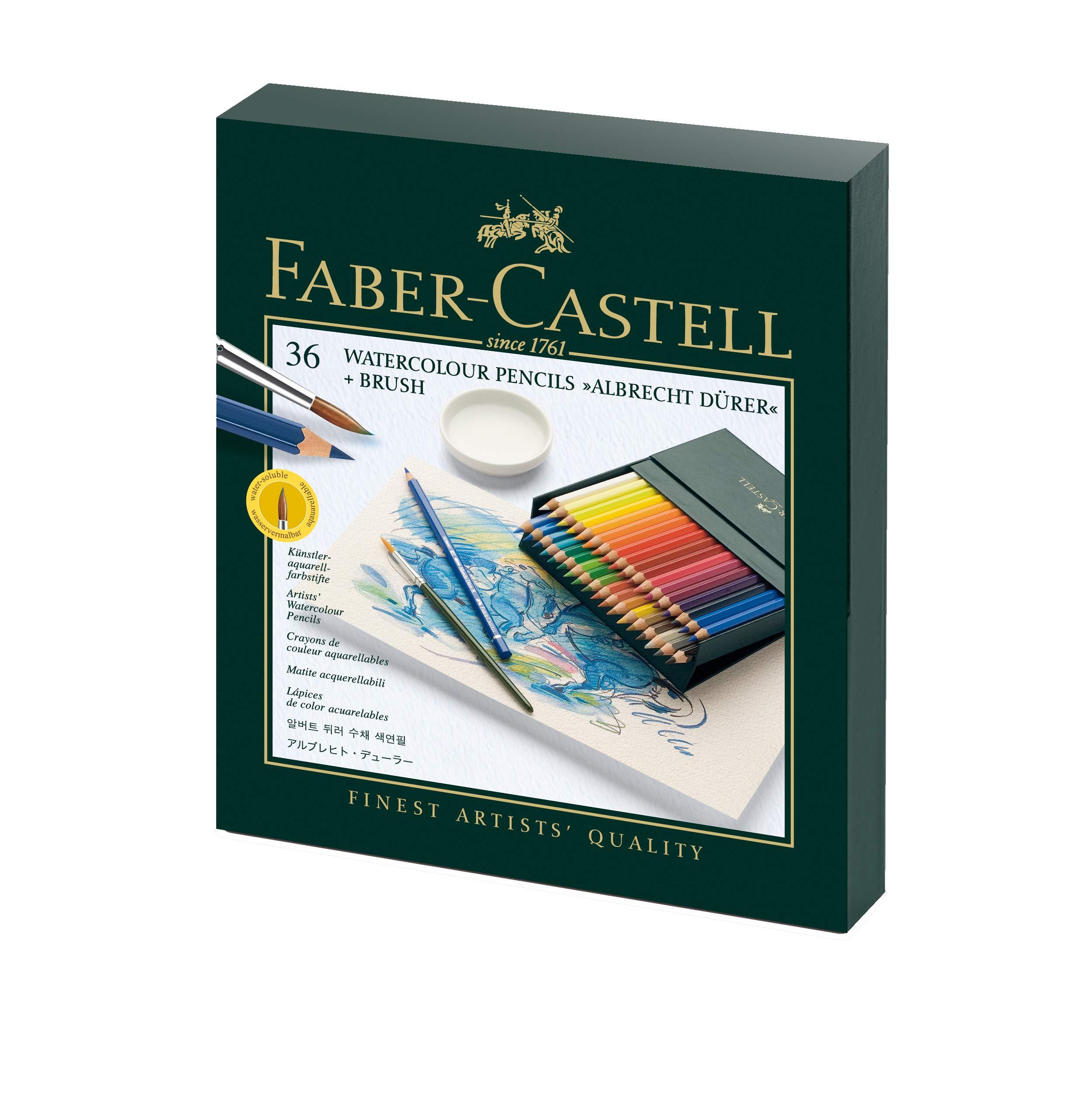 Faber-Castell 117538 Matite Colorate, 36 Pezzi, multicolore