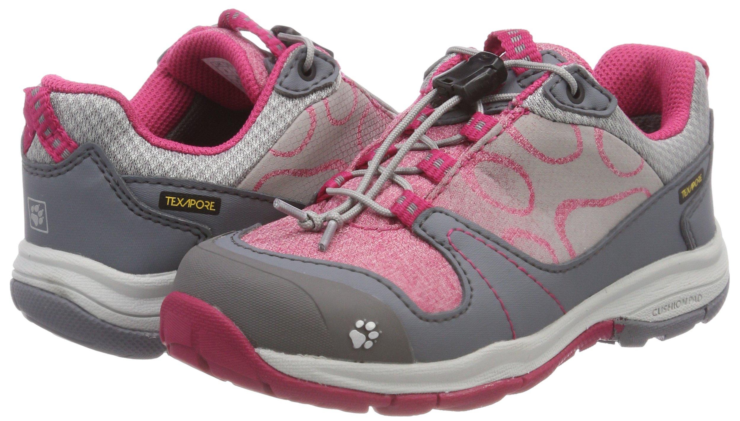 Jack Wolfskin Girls Grivla Texapore Low G Wasserdicht Rise Hiking Shoes 5