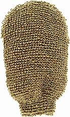 Riffi indischen Flachs/Baumwolle Massage Mitt