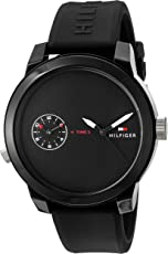 Tommy Hilfiger Analog Black Dial Men's Watch