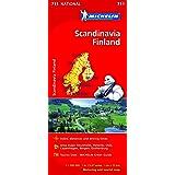 Scandinavia & Finland - Michelin National Map 711: Map (Michelin National Maps, 711)