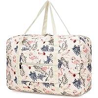 Leichte Faltbare Reisetasche Handgepäck Tasche Handgepaeck Sporttasche für Reisen Weekender Duffel Frauen und Mädchen…