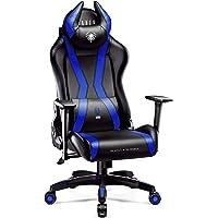 Diablo X-Horn Gaming Stuhl Bürostuhl Schreibtischstuhl 3D Armlehnen Ergonomisches Design Nacken/- Lendenkissen…