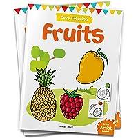 Little Artist Series Fruits: Copy Colour Books