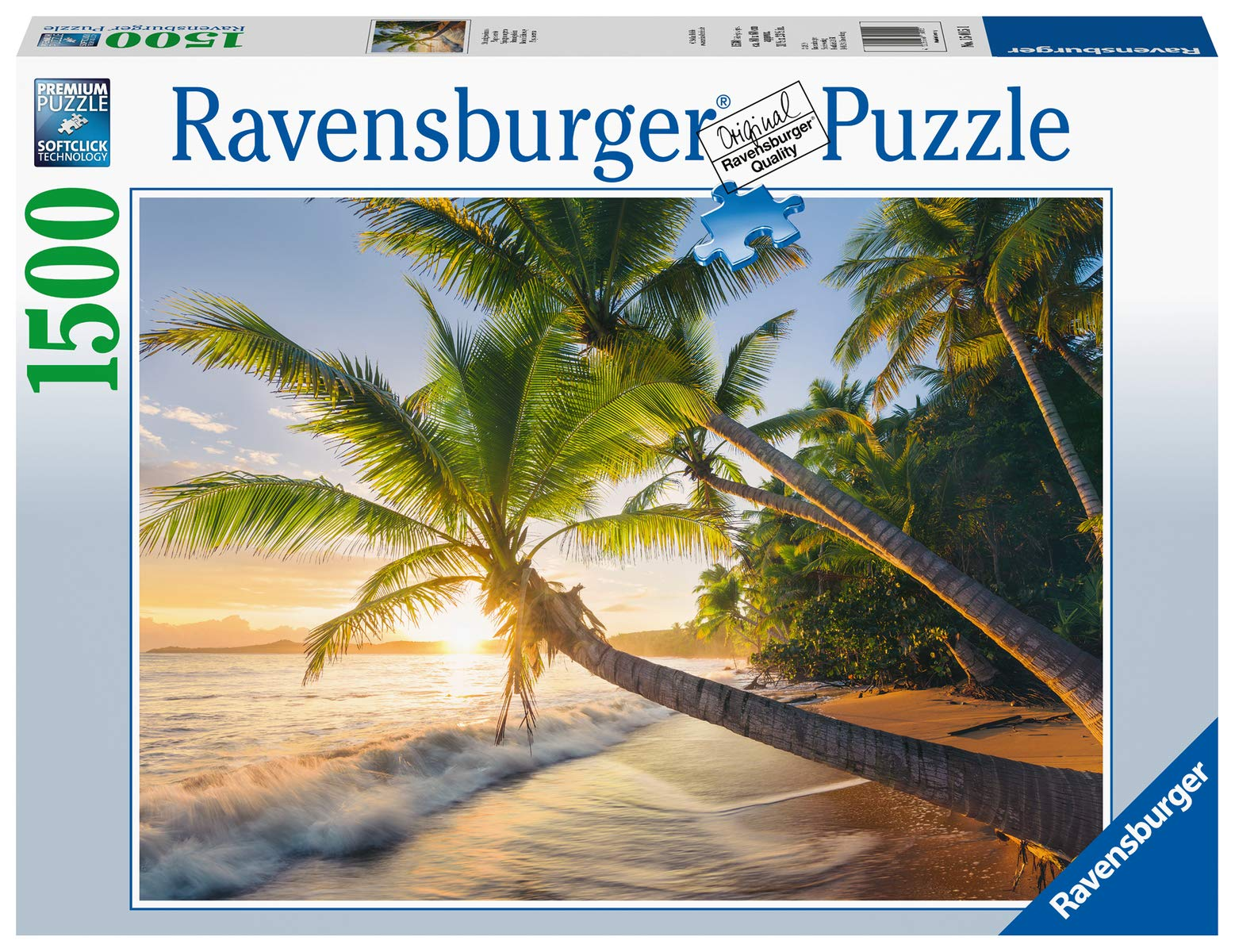 Ravensburger-15015-Beach-Hideaway-Strandgeheimnis Ravensburger Puzzle 15015 – Strandgeheimnis – 1500 Teile -