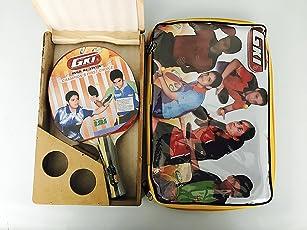 GKI Offensive XX Table Tennis Racquet With Wooden Case
