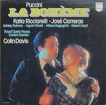 puccini la boheme gesamtaufnahme in italienischer sprache vinyl schallplatte 2 lp box set