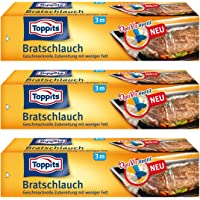 Toppits Bratenschlauch (31cm x 3m), 3er Pack (3 x 3 Meter)