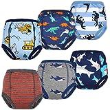 FLYISH Direct Culottes d'apprentissage Propreté pour Bébé sous-Vêtements D'entraînement pour Tout-Petits pour Bébé Fille et G