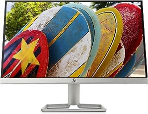 HP 22fw 3KS60AA (21,5 Zoll / Full HD IPS) Monitor (HDMI, VGA, AMD FreeSync, 1920 x 1080 Pixel bei 60Hz, 5ms Reaktionszeit) weiß / silber