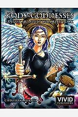 Gods & Goddesses - Fantasy Art Adult Coloring Book Broché