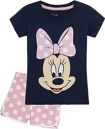 Leggins Disney Leggings Minnie Mouse Kinder Jogginghose Hose Baumwolle 3-8 J