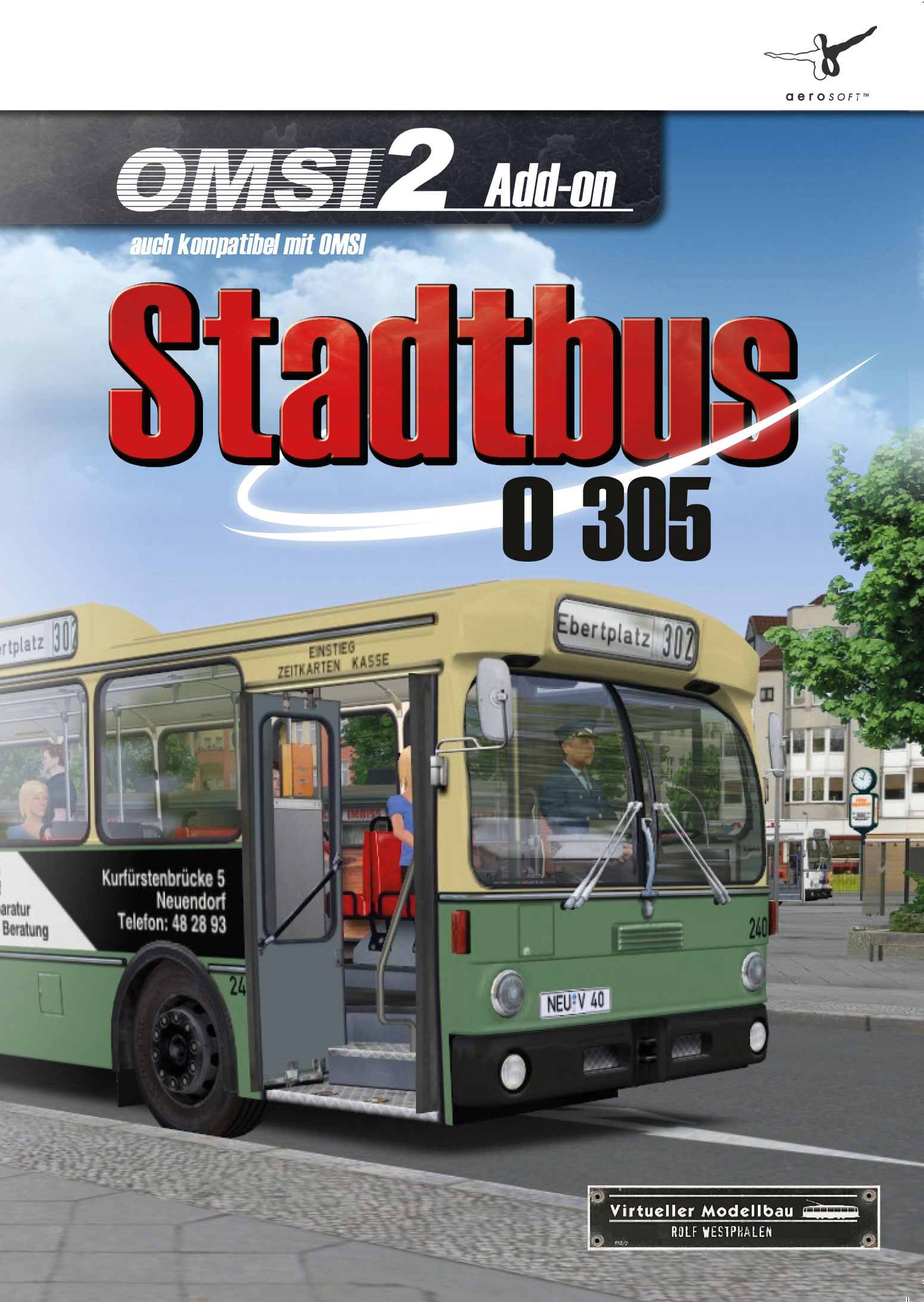 OMSI 2 Add-On Stadtbus O305 [PC Code - Steam]