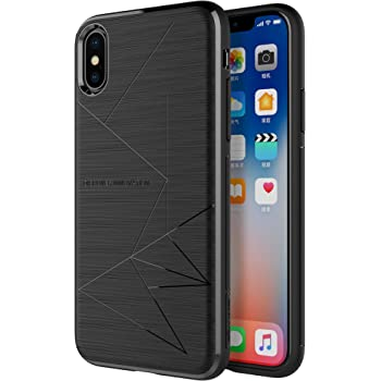 big sale fbd8a 4ab0d Nillkin iPhone XS/iPhone X Case, [Magic Case Series] Flexible Soft TPU Back  Cover [Compatible Magnetic Wireless Car Charger] for 5.8