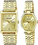 Sonata Analog Gold Dial Unisex Watch-NL70078083YM02 / NL70078083YM02