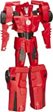 Transformers Robots in Disguise Titan Changers Sideswipe Figure, Multi Color