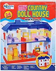 Clastik Deluxe My Country Doll House - Set of 24 pcs