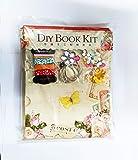 R H lifestyle Children DIY Handmade Flower Garden Theme Photo Binder Album with Scrapbooking Kits