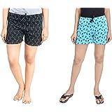 A9- Women Regular Shorts (Pack of 2)