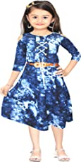 AD & AV Girl's Synthetic Frock