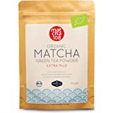 Matcha 108 Matcha Theepoeder, bio-ceremonie-kwaliteit voor extra mild theegenot, ideaal voor thee, smoothies en lattes, 58 g,