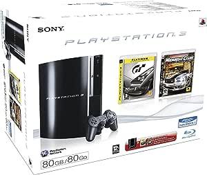 Console PlayStation 3 + GT5 Prologue Platinum +  Midnight Club
