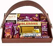 Food Library The Magic of Nature Birthday/ Anniversary/ Diwali/ Christmas/ Valentines Day Chocolate Gift Hamper