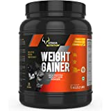 Strava Nutrition Weight Gainer with Whey protein, Ashwagandha extract and digestive enzymes (Chocolate Flavour) 1kg / 2.2 lbs