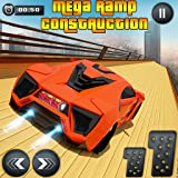mega ramp extreme car - juego imposible de carreras de coches