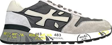 PREMIATA Luxury Fashion Uomo MICK4952 Grigio Pelle Sneakers | Autunno-Inverno 20