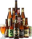 Saveur Bière - Coffret Bières Blondes - Pack de 11 bières (25 à 50 cl) et 1 verre de 25 cl - Idée cadeau