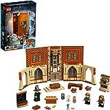 LEGO 76382 Harry Potter Momento Hogwarts: Clase de Transfiguración Libro de Juguete Coleccionable Set Portátil Estuche de Via