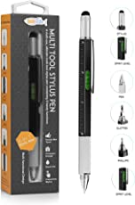TwitFish ULTIMATE Multi-Tool Stylus Pen - Schwarz