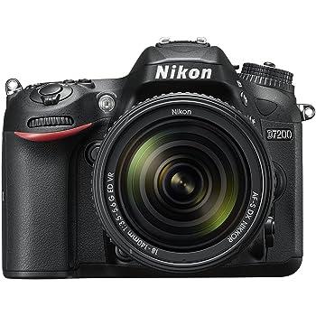 Nikon D7200 Fotocamera Reflex Digitale, + Obiettivo AFS 18-140VR , 24,72 Megapixel, Wi-Fi Incorporato, NFC, Nero [Versione EU]