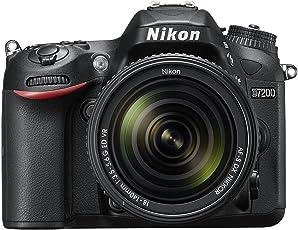 Nikon D7200 (24 Megapixel, 8 cm (3,2 Zoll) LCD-Display, Wi-Fi, NFC, Full-HD-Video) Kit inkl. AF-S DX Nikkor 18-140 mm 1:3,5-5,6G ED VR Objektiv