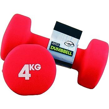 Fitness Mad Neo - Set de 2 Mancuernas / pesas de 4kg/u, color