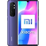 Xiaomi Mi Note 10 Lite Smartphone, 6 GB + 64 GB, Quad Camera, 6.47″, 3D Curved AMOLED Display, 5260 mAh, Porpora (Nebula Purp