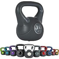 4 kg MaxxToys Kettlebell Kunststoff Fitness Kugelhantel Blau
