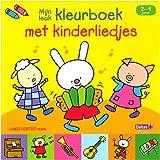Lange oortjes - Mijn leuk kleurboek met kinderliedjes (2-4 j.): LANGE OORTJES reeks
