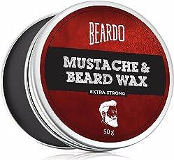 Beardo Beard and Mustache Wax Extra Strong - 50gm