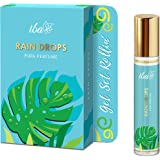 Iba Pure Perfume - Rain Drops, 10 ml, Aqua l Alcohol Free, Long Lasting l Vegan & Cruelty Free