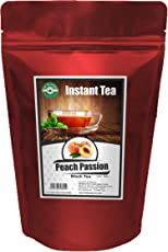 The Tea Planet Peach Passion Ice Tea (1000 Grams Serves 100ml cups of 300) Color of the pack may vary