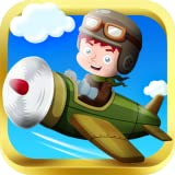 Arcade Kid Runner - Endless action 3D vol avec Avion de guerre - Free To Play pour les enfants