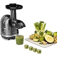 H.Koenig Extracteur de Jus de Fruits et Légumes Horizontal Sans BPA HSX16 compact 1.1L Centrifugeuse Vitamin+ Puissant…