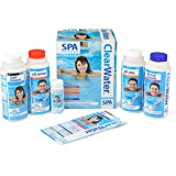 Bestway Clearwater Hot Tub Chemical Starter Kit 6 PCS and 25 Test Strips