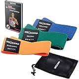 NEOLYMP Elastische Fitness Tape voor Thuis en Professioneel Sporten ∙ Weerstand Tape + E-Boek met meer dan 100 Oefeningen