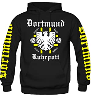 world-of-shirt Herren Kapuzenjacke Dortmund Ultras meine Heimat